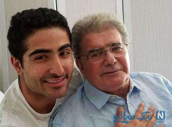عکس محمدرضا شجریان و پسرش رایان
