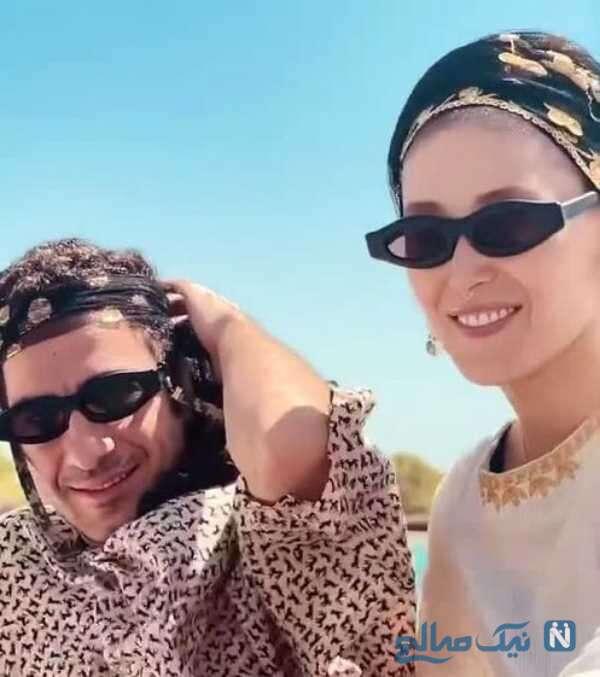 عکس های نوید محمدزاده و همسرش فرشته حسینی