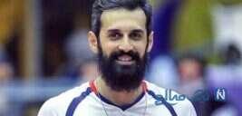 حرکت عجیب سعید معروف والیبالیست ایرانی با فوتبال بسکتبال