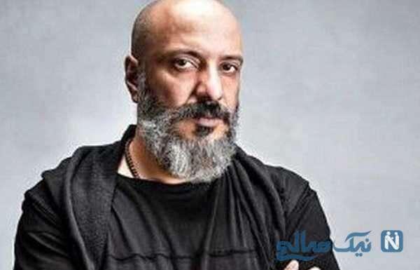 جدیدترین عکس سلفی امیر جعفری بازیگر مشهور با پسرش آیین