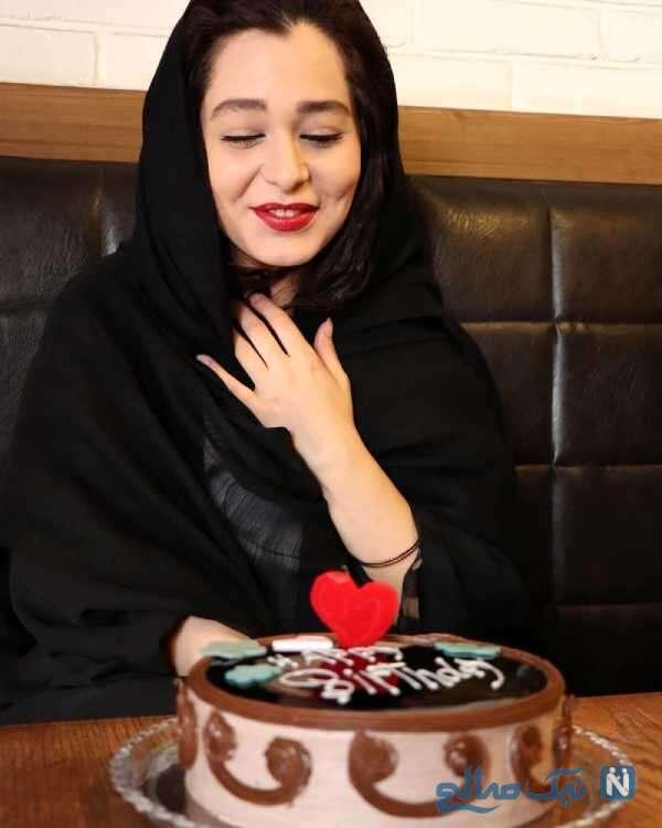 تصویری از جشن تولد سانیا سالاری