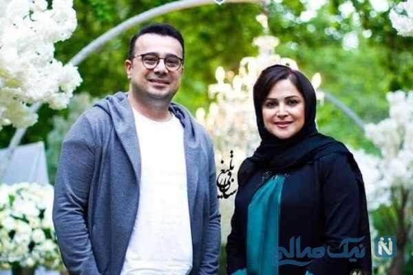 سپند امیرسلیمانی بازیگر سینما و خواهرش
