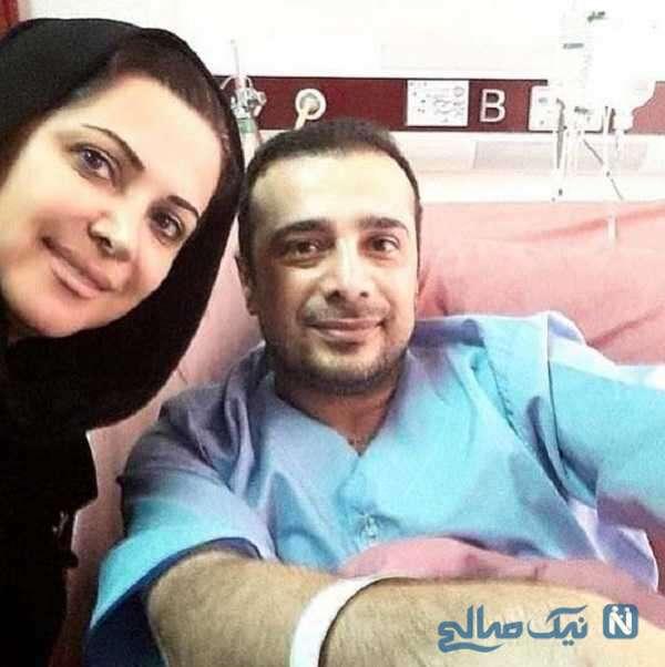 سپند امیرسلیمانی در بیمارستان