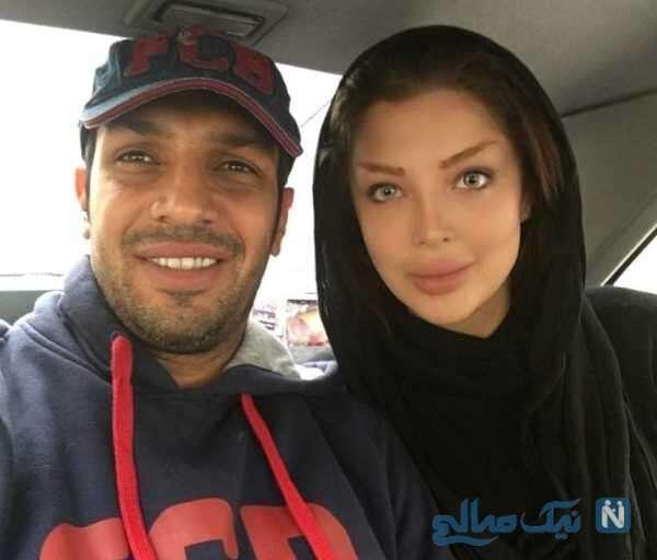 بازیکن سابق فوتبال و همسرش