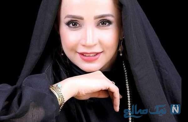 شبنم قلی خانی بازیگر فیلم تکخال در ویلای زیبا و رویایی شان