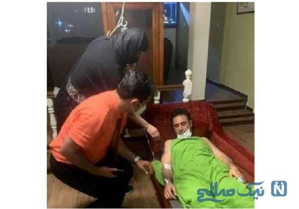 حال وخیم شاهین صمدپور بعد از ابتلا به کرونا