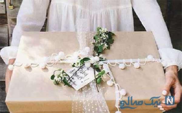 شوکه شدن عروس از کادو