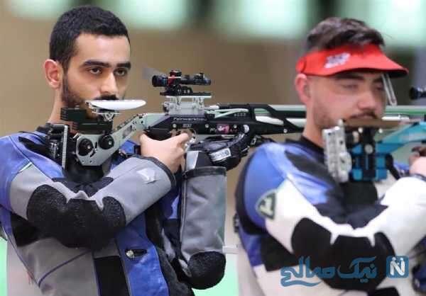 رقابت تیرانداز ایرانی در المپیک
