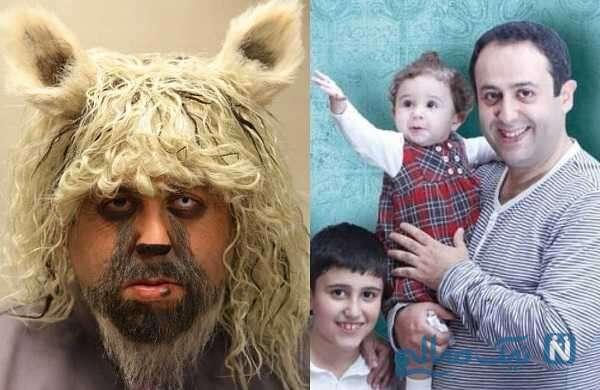 تصویری از گریم عجیب بازیگران ایرانی
