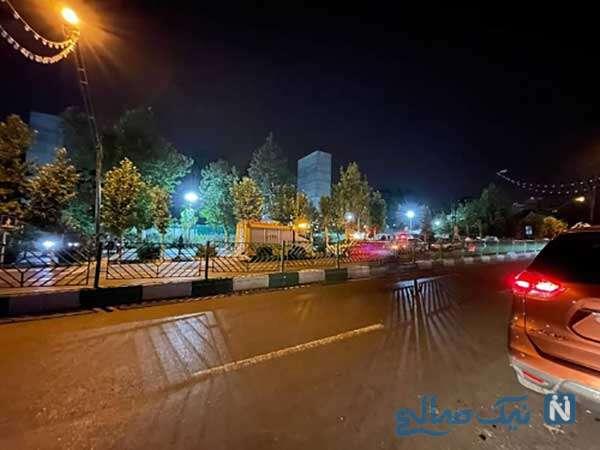 شنیده شدن صدای مهیب در شمال تهران در محدوده پارک ملت