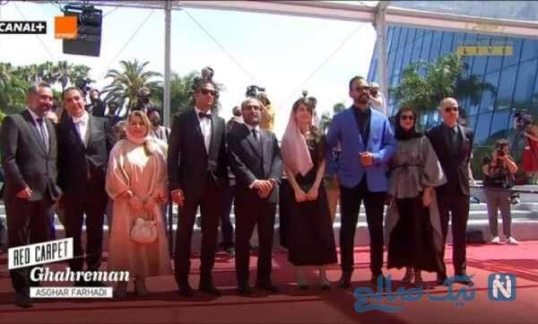 عوامل فیلم قهرمان اصغر فرهادی در جشنواره کن
