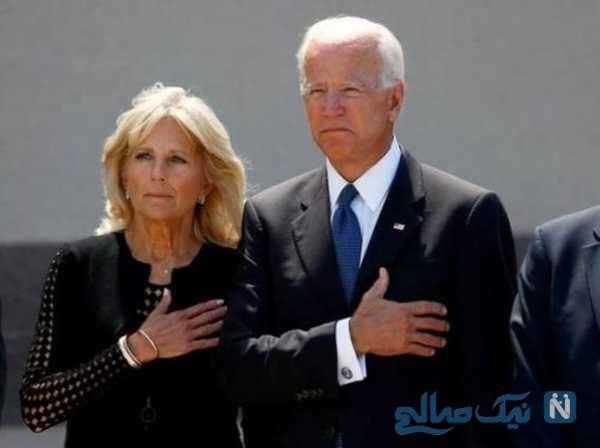 جو بایدن و همسرش