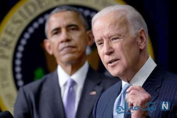 جو بایدن و اوباما