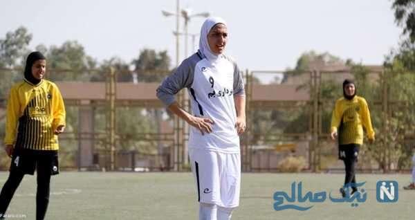 زهرا قنبری بازیکن فوتبال