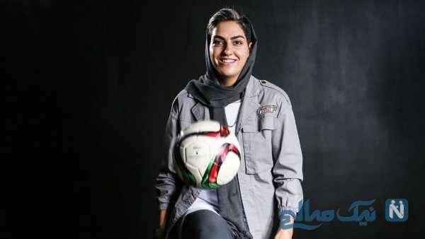 زهرا قنبری فوتبالیست زن