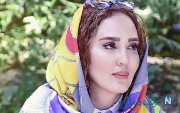 تصاویر متفاوت از زهره فکور صبور بازیگر سریال کامیون با چادر در حرم امام رضا