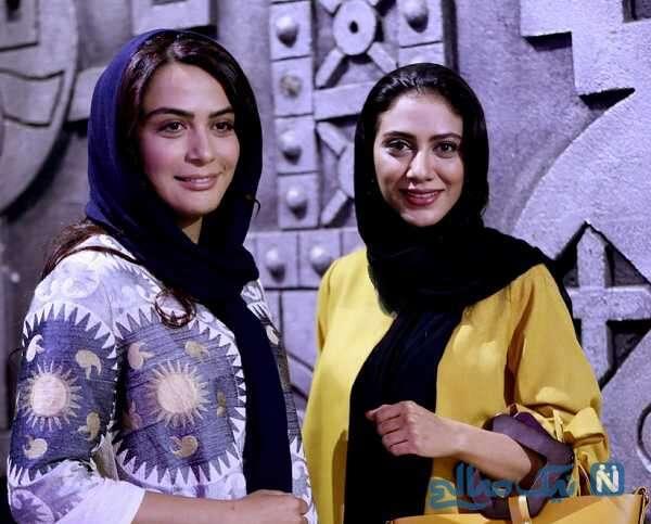 بازیگر مارال فرجاد و خواهرش