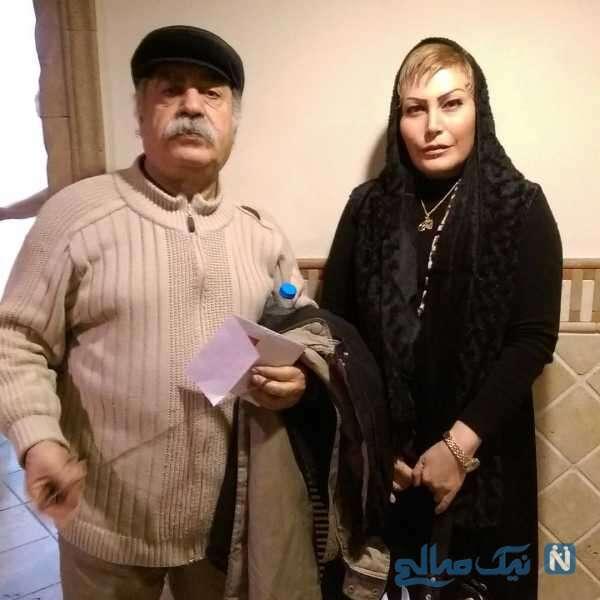بتینا مظلومی بازیگر کنار بهزاد فراهانی