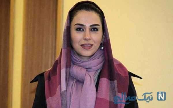 تبریک تولد احساسی تینا پاکروان بازیگر سریال خاتون برای همسرش