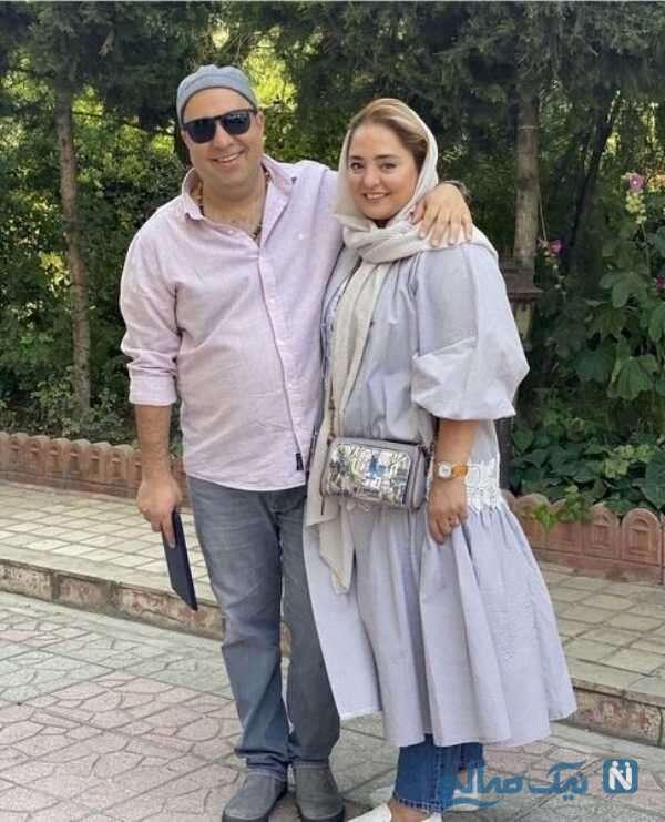 نرگس محمدی و شوهرش