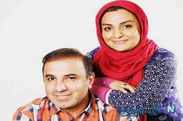 علی سلیمانی و زنش
