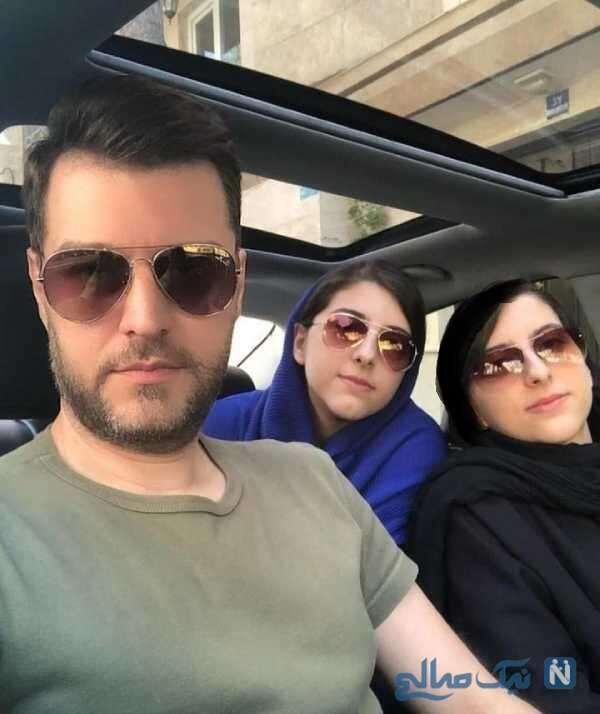 دختران دوقلوی مجری معروف