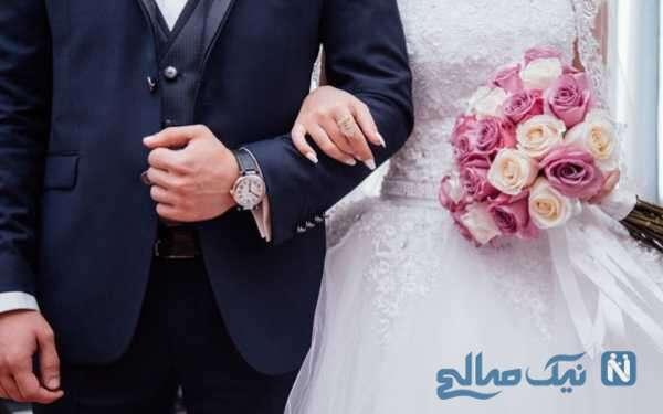 غیرتی شدن داماد برای عکاس مراسم و واکنش جالب عروس خانم !