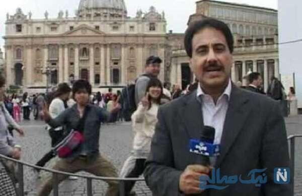 پشت صحنه های حمید معصومی نژاد رم ایتالیا