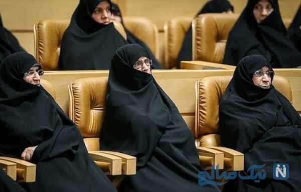 تصویری از دختران امام خمینی