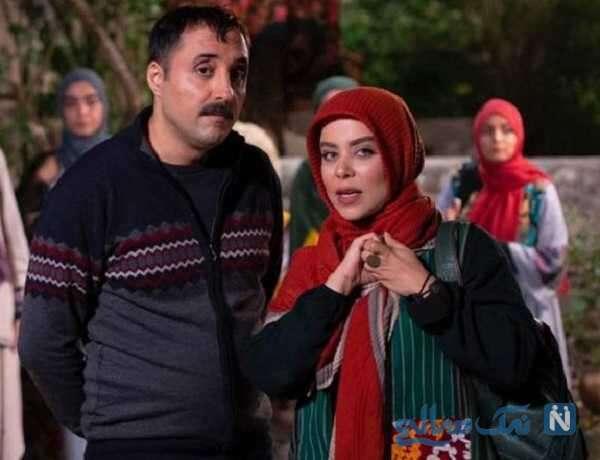تصویری از الهام اخوان بازیگر دودکش ۲