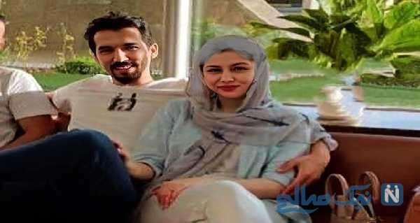 عکس فرهاد قائمی همسرش