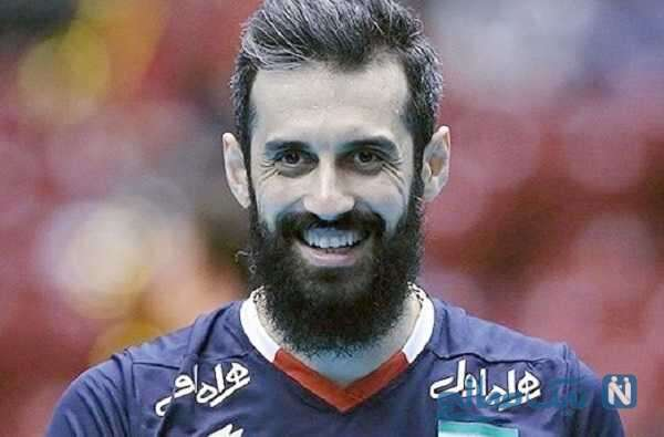 پست غمگین سعید معروف برای خداحافظی اش از والیبال