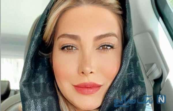 تبریک تولد فریبا نادری برای سیما تیرانداز بازیگر سریال هیولا
