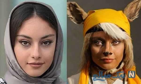 ترلان پروانه و گریم سنگین بازیگران ایرانی