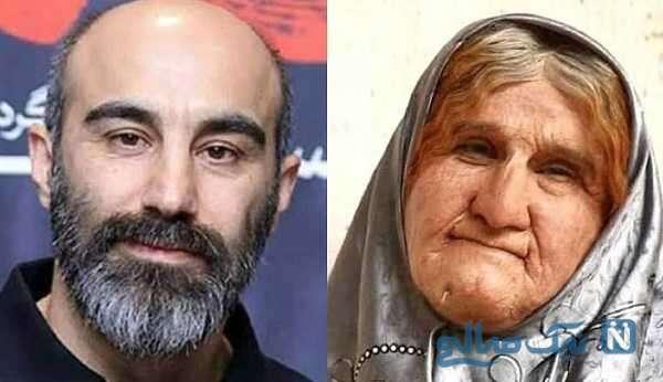 تصاویری از گریم سنگین بازیگران ایرانی