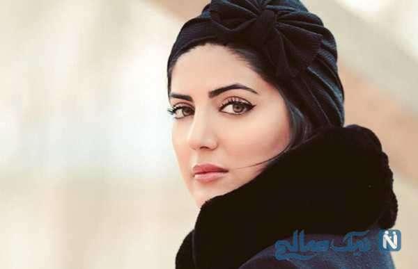 جشن تولد ۳۴ سالگی هلیا امامی با کیک زیبا و هفت رنگ اش