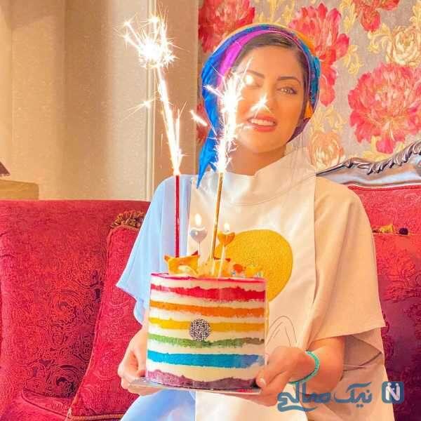 جشن تولد هلیا امامی بازیگر