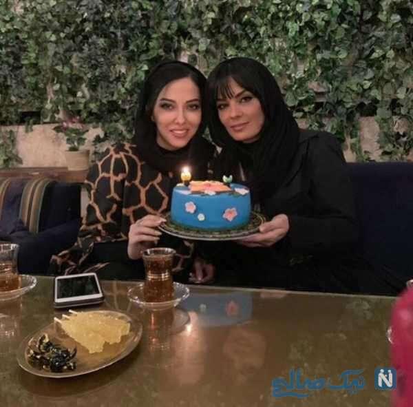 جشن تولد لیلا اوتادی بازیگر