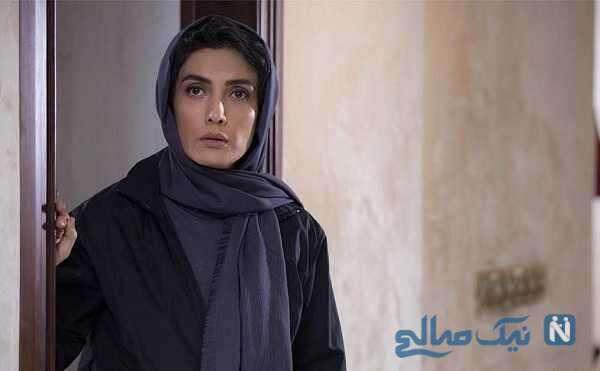 صحنه در آغوش کشیدن لیلا زارع و سعید آقاخانی در فیلم سینمایی خون شد