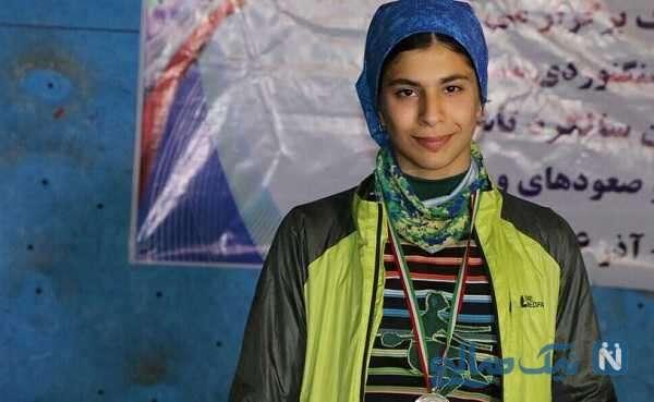 درخشش محیا دارابیان دختر سنگنورد ایرانی
