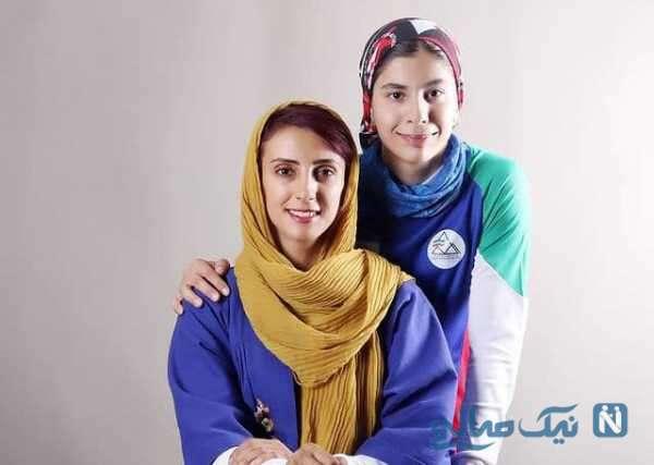 دختر سنگنورد ایرانی