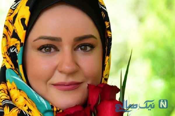 میکاپ نعیمه نظام دوست بازیگر سریال نون خ , زیبا و جذاب