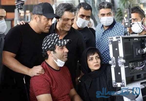 تصویری از منوچهر هادی کارگردان ایرانی