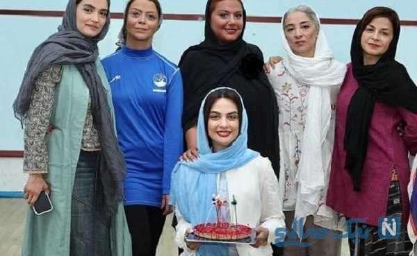جشن تولد مارال فرجاد با حضور خانم های بازیگر