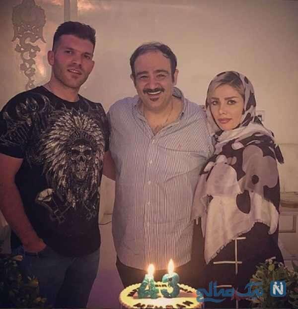 عکس جشن تولد مهران غفوریان بازیگر