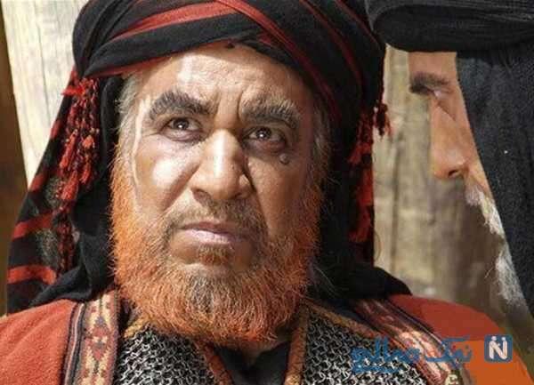تصویری از محمد فیلی بازیگر نقش شمر