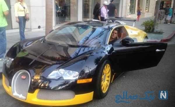 محمدرضا گلزار با ماشین لاکچری اش