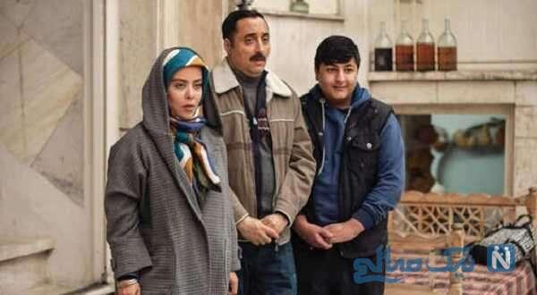 تصویری از محمدرضا شیرخانلو بازیگر سریال دودکش