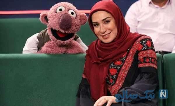 نسیم ادبی بازیگر ایرانی در خندوانه