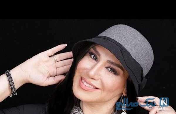 سالگرد ازدواج غم انگیز نسیم ادبی بازیگر ایرانی بدون حضور همسر مرحومش